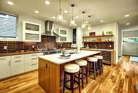 Hickory Flooring Pros And Cons Contemporary Kitchen With Engineered Hardwood Floors
