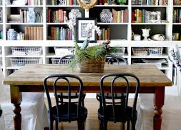 Add Bookshelves To A Dining Room