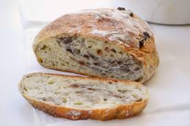 Fig Walnut No Knead Bread