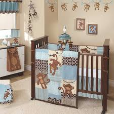 Sock Monkey Crib Bedding by Monkey Themed Baby Boy Crib Bedding Set Ideal Baby Boy Crib