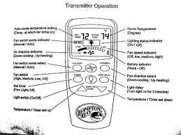 Harbour Breeze Ceiling Fan Manual by 100 Harbor Breeze Ceiling Fan Remote Control Battery