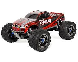 100 Red Monster Truck Traxxas EMaxx RTR Brushless 4WD TRA390864RED