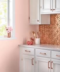 Tin Tiles For Backsplash by 27 Trendy And Chic Copper Kitchen Backsplashes Digsdigs