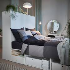 A Functional Bedroom In A Small Living Room │ IKEA