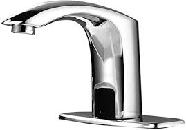 gimify berührungsloser sensorhahn automatisch intelligent einloch wasserhahn freisprech wasserhahn badezimmer waschbecken wasserhahn mit