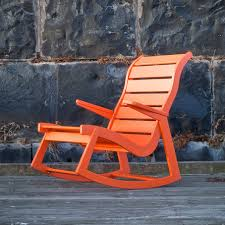 modern outdoor rocking chair made in u s loll designs