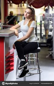 Woman Sitting High Chair Fitness Studio Glancing Camera ... Young Woman Leaning On High Chair By Table With Glass Of Baby Shopping Cart Cover 2in1 Large Beautiful Woman Sitting On A High Chair In The Studio Fashion How To Plan Wonder Themed 1st Birthday Party First Elegant Young Against Red Stock Photo Artzzz Fenteer Nursing Cushion Women Kids Carthigh Business Sitting Edit Now Over Shoulder View Of Otographing Baby Daughter Stock Photo Metalliform 2104 Polyprop Classroom 121