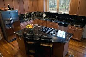 charming maple cabinet granite on maple cabinets black