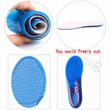 sports gel shoe nsoles shoe inserts for women men comfort arch