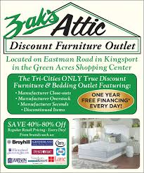Zak s Attic Discount Furniture Outlet in Kingsport