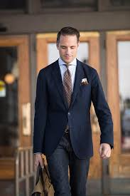 Tommy Hilfiger Blazer Al Bazar Shirt Luciano Barbera Tie JCrew Jeans Style