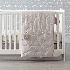 bunny crib bedding the land of nod