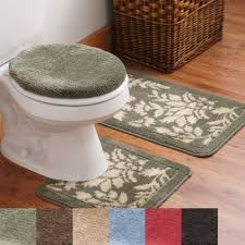 Walmart Bathroom Rug Sets by Bathroom Nice Decorative Bathroom Rug Sets With White Toilet And