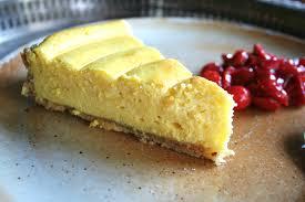 pate brisee au fromage tarte au fromage blanc sur pâte sablée aux noisettes compotée de