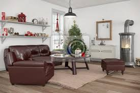 fototapete skandinavisches nordisches wohnzimmer mit einem sofa kamin