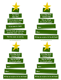 Christmas Tree Names by A Teenage Christmas Party