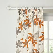 Lined Curtains John Lewis by Best 25 Orange Pencil Pleat Curtains Ideas On Pinterest Large