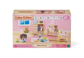 Calico Critters Baby's Nursery Set - Walmart.com Calico Critters Tea And Treats Set Walmartcom Baby Kitty Boat And Mini Carry Case Youtube 2 Different Play Sets Together Highchair Cradle With Houses Opening Lots More Stuff Sylvian Families Unboxing Review Playpen High Childrens Bedroom Room Nursery Minds Alive Toys Crafts Books Critter The Is A Fashion Showcase Magic Beans Luxury Townhome Cc1804 Splashy Otter Family Castle Epoch Toysrus