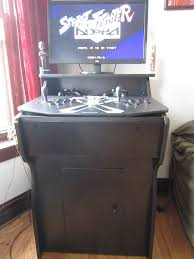 Arcade Cabinet Plans Tankstick by Jsante Net Home Arcade Machine Project