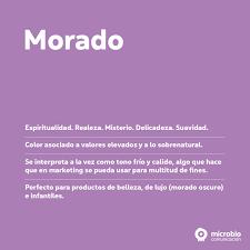 Los Colores Del Marketing Amarillo Morado Rosa Y Negro I Microbio