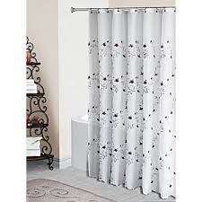 Boscovs Blackout Curtains by Loretta Embroidered Fabric Shower Curtain White Boscov U0027s