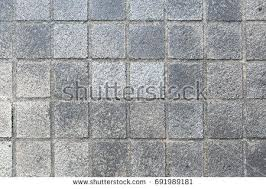 Outdoor Stone Flooring Block Tile Floor Background And Texture Pattern