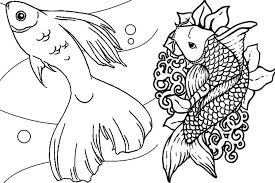 Fish Coloring Pages For Adults