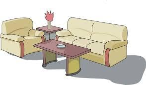 Furniture Outdoor Top View