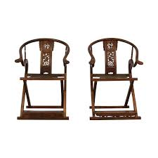 77% OFF - Antique Chinese Emperor Horseshoe Folding Chairs / Chairs Amazoncom Winsome Wood Folding Chairs Natural Finish Set Of 4 El Indio Fishing Chair Camping Ultra Lweight Home Craft Kids Metal Multiple Colors Walmartcom Slounger Mountain Warehouse Gb Meco Deluxe Fabric Padded Reviews Wayfair Black Celebrations Party Rentals Kijaro Dual Lock Academy 77 Off Antique Chinese Emperor Horseshoe White Fan Back Plastic Foldable Nano Stylish Expand Fniture Flash American Champion Bamboo Terje Chair White Ikea