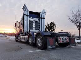 World's Only Fan-built Optimus Prime Truck Replica - Other