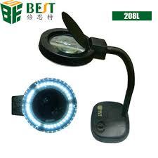 Best Desktop Magnifying Lamp by Best 208l 5x 10x 36 Led Magnifying Glass Desk Lamp Buy