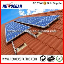 r q54 tile roof solar panel installation kit buy solar panel