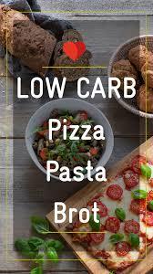 low carb brot pizza rezept rezepte gesunde snacks