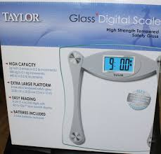 Taylor Bathroom Scales Customer Service by Taylor Glass Digital Scale 7516cuk High Quality For Extra Large