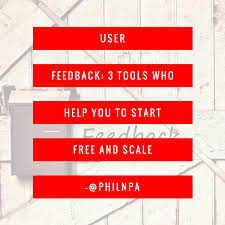 User Feedback 31 Tools Who Help You To Start And Get Beyond Your MVP