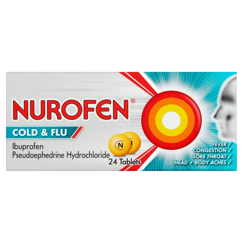 Nurofen Cold and Flu Relief - 24 tablets
