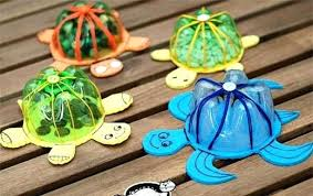 Inspiring Craft Ideas Using Plastic Bottles Art And Work From Waste Materials Than