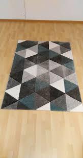 mömax webteppich rom grau grün 120x170cm kurzfloor wie neu
