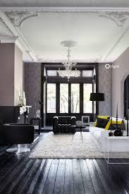 wohnzimmer tapete mit malerischem effekt taupe 347386
