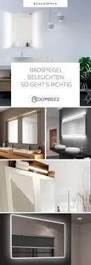 spiegelbeleuchtung im bad ideales licht zum schminken