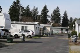 RV Park Lakewood WA Motorhome