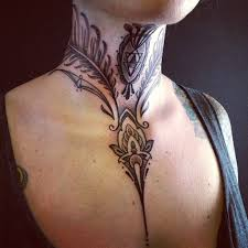 50 Most Beautiful And Attractive Neck Tattoos