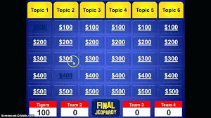 Jeopardy Template The Free Website Templates Classroom Educational Game