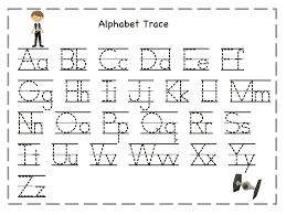 Tracing Letters Worksheet Free Download