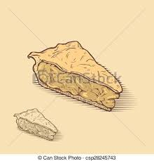 American Apple Pie Vector