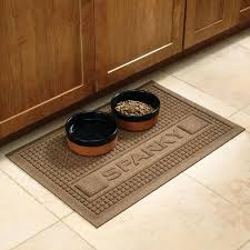 Personalized Pet Food Mats at Brookstone—Buy Now