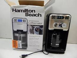Hamilton Beach 46201 12 Cup Space Saver Coffee Maker