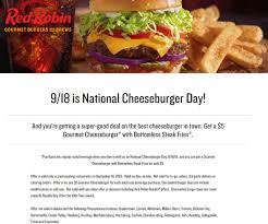 Red Robin Coupons - 20% Off Takeout At Red Robin Restaurants ... Celebrate Sandwich Month With A 5 Crispy Chicken Meal 20 Off Robin Hood Beard Company Coupons Promo Discount Red Robin Anchorage Hours Fiber One Sale Coupon Code 2019 Zr1 Corvette For 10 Off 50 Egift Online Only 40 Slickdealsnet National Cheeseburger Day Get Free Burgers And Deals Sept 18 Sample Programs Fdango Rewards Come Browse The Best Gulf Shores Vacation Deals Harris Pizza Hut Coupon Brand Discount Mytaxi Promo Code Happy Birthday Free Treats On Your Special