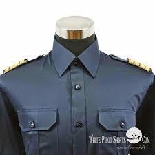 tailor made white pilot uniform shirts fully customized pilot