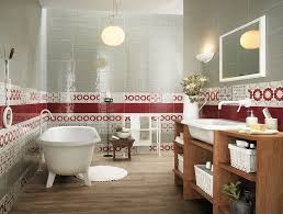 bathroom designs 13 white striped bathroom tiles top to toe